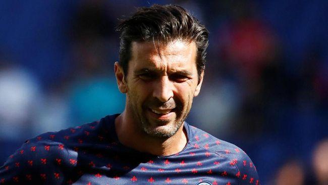 Tak Bisa Main, Buffon Tetap Ikut PSG ke Liverpool