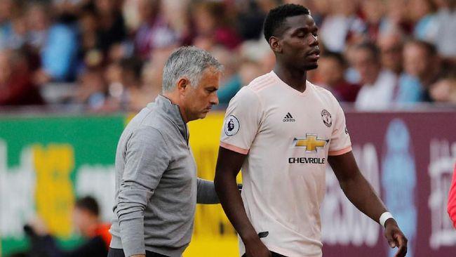4 Bintang Selain Pogba Pernah Bermasalah dengan Mourinho