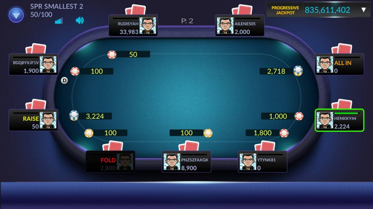 meja poker online indonesia